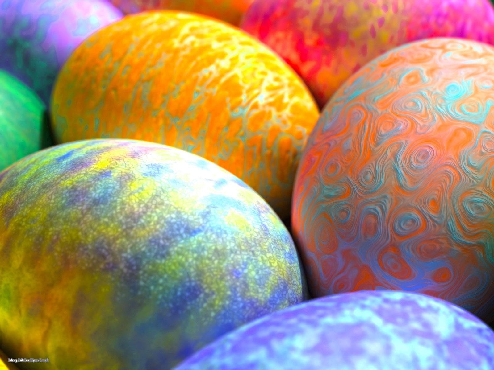 Artistic Easter Egg Background