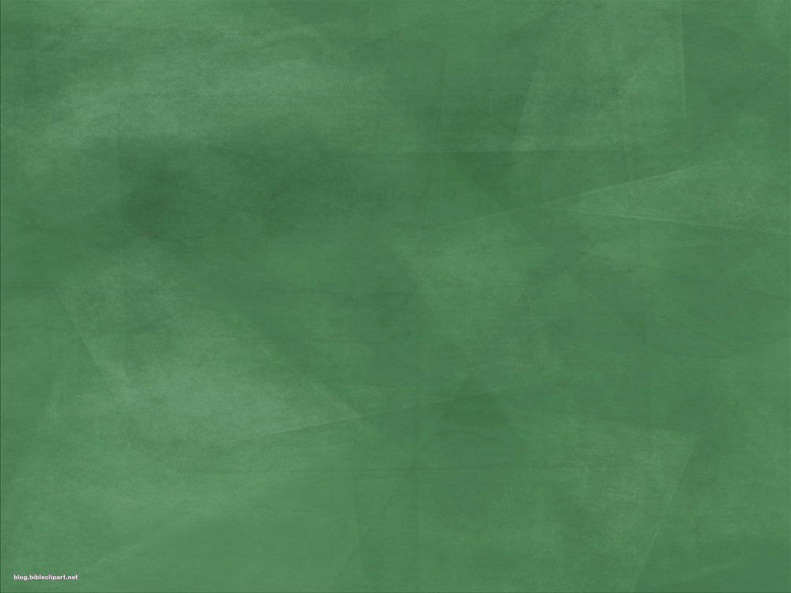 Green Chalk Board Background for PowerPoint