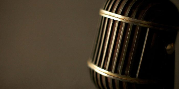 Microphone HDR Background