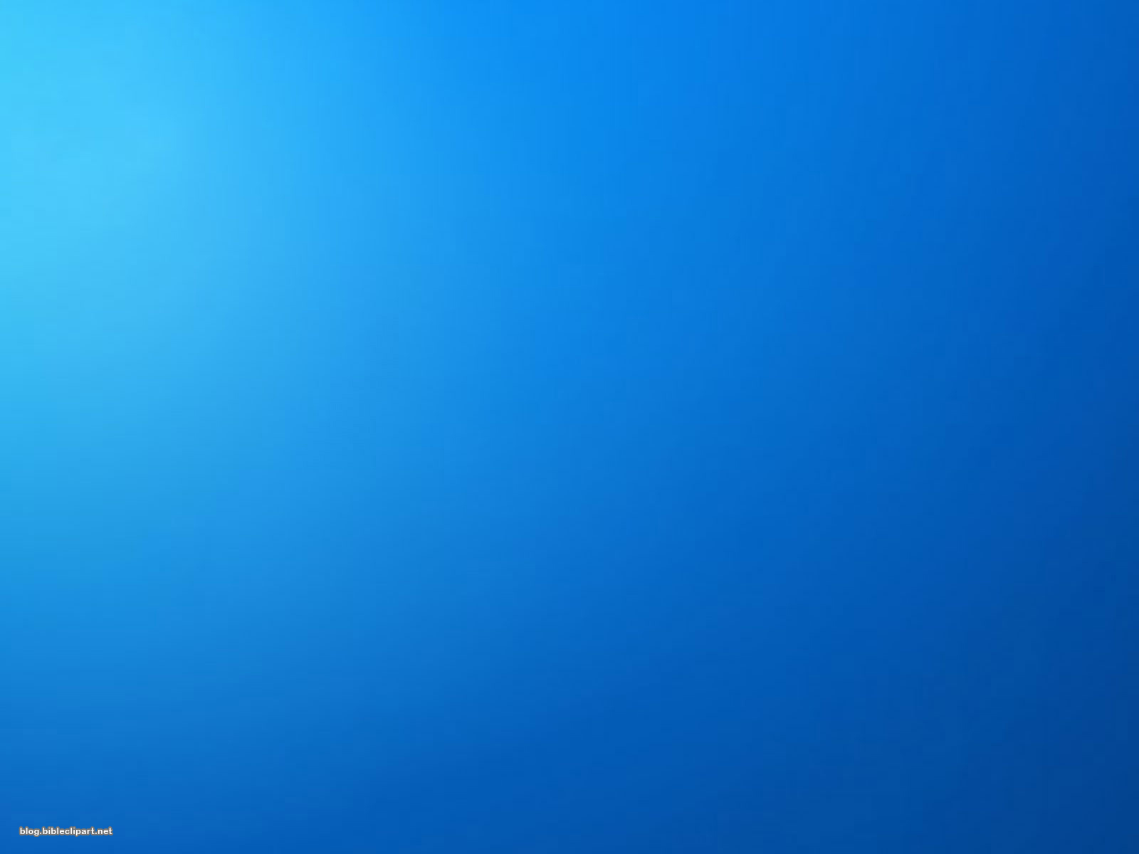 Minimalist Blue Background