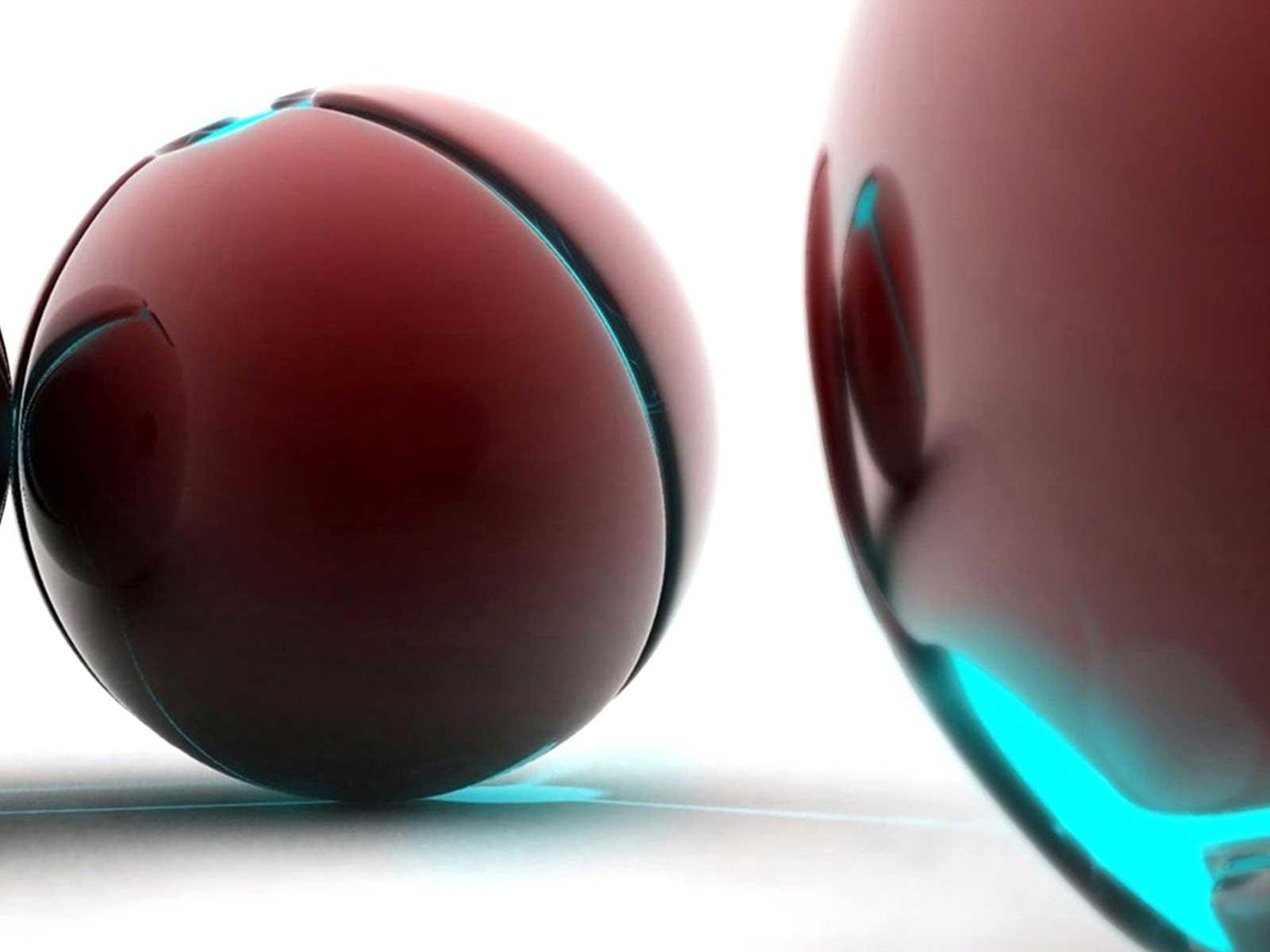 3D Ball Background