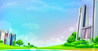 Cartoon Children Story Background