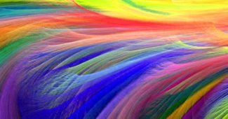 Colorful Feather Powerpoint Background