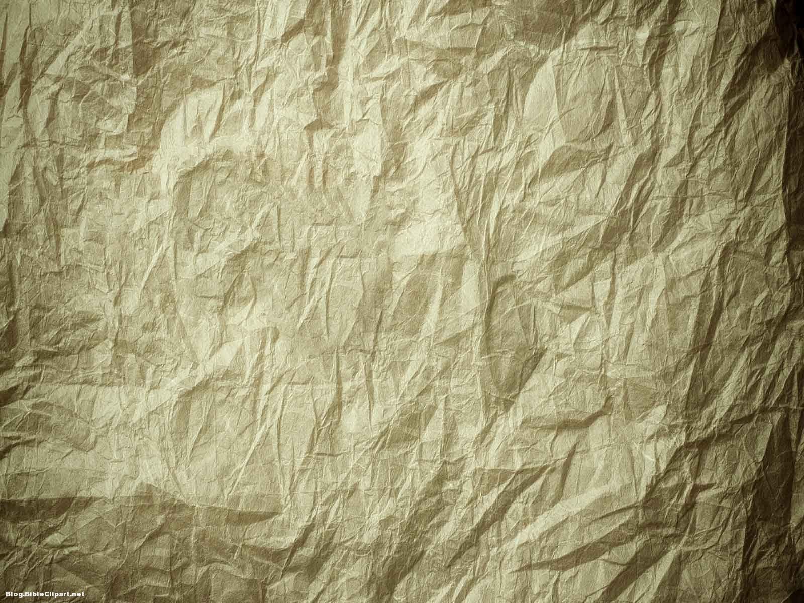 Crumpled Paper Background for Powerpoint