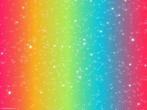 Cute Rainbow Background For Powerpoint