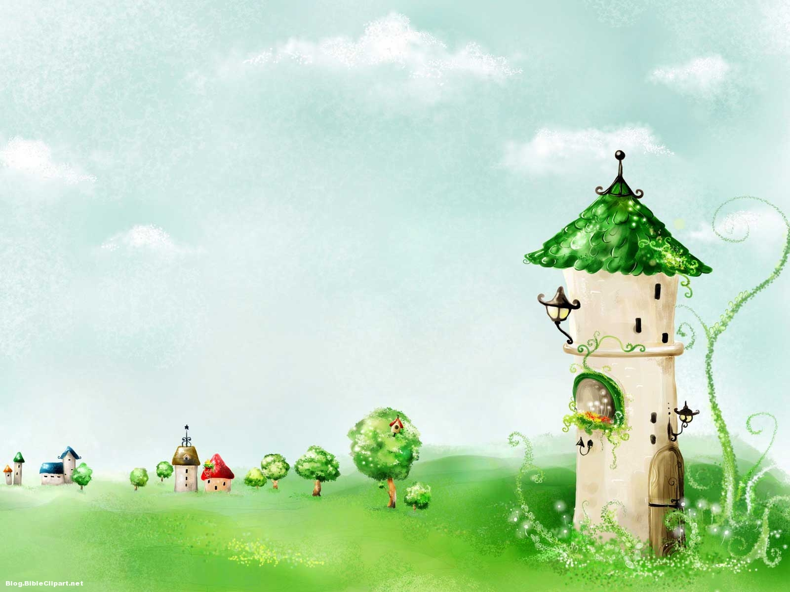 Fairy Tale Story Background