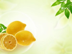 Lemon Powerpoint Background