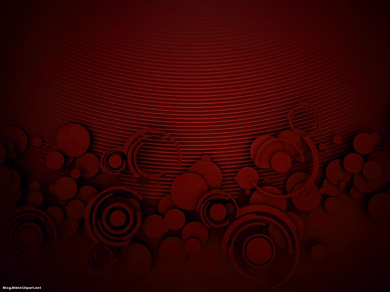 Minimal Circle Red Textured Background for Powerpoint