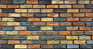 Natural Brick Wall Background for Powerpoint