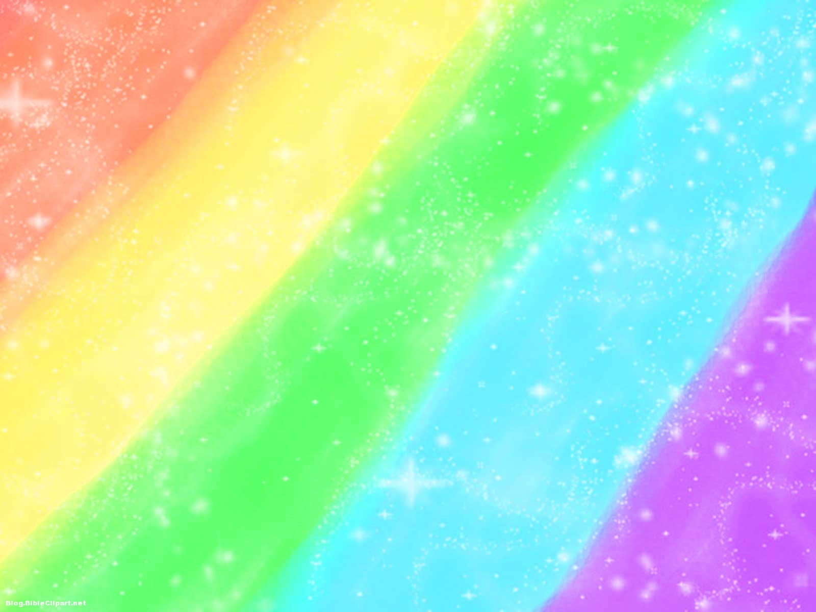 Rainbow Pastel Colored Background